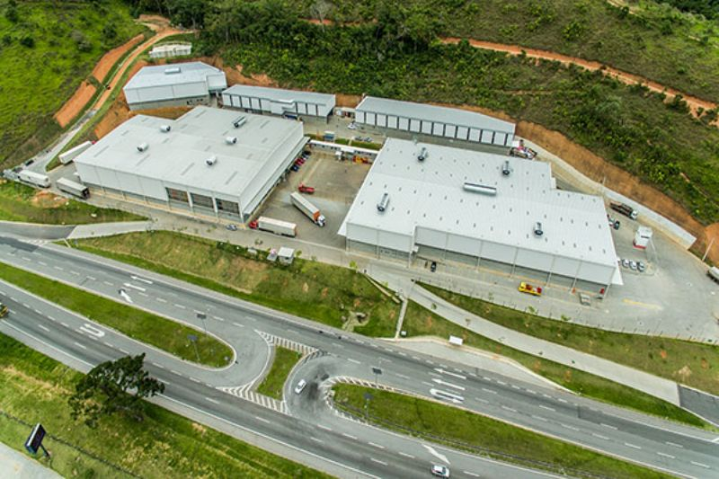 Condomínio de Galpões - Solidum Log I - Castelo